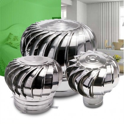 FA1923 FA-VENTZ US 100% Stainless Steel 304 Wind Turbine Ventilator IN-24 / MM-600 (SABAH)