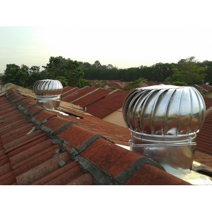 FA1057 FA Wind Turbine Ventilator 18 Inch (with Installation in Perak)