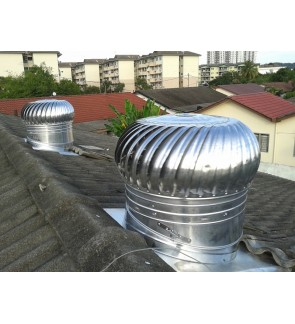 FA1072 FA Wind Turbine Ventilator 23 Inch (with Installation in Pahang)