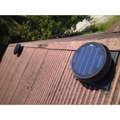 FA1249 Germany No.1 Solar Roof Attic Ventilator Fan GER-W45 (with Installation in Pahang)