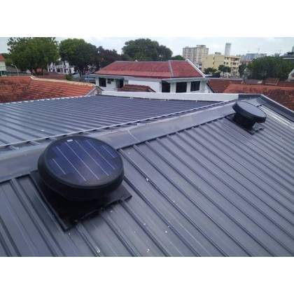 FA1259 Germany No.1 Solar Roof Attic Ventilator Fan GER-W35 (with Installation in Kelantan)