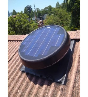 FA1282 Germany No.1 Solar Roof Attic Ventilator Fan GER-W25 (with Installation in Pahang)