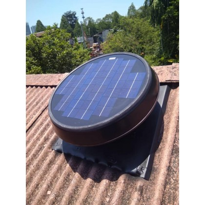 FA1287 Germany No.1 Solar Roof Attic Ventilator Fan GER-W25 (with Installation in Terengganu)