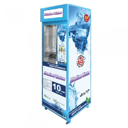 FA1197 FA EG Plate Iron Drinking / Alkaline Water Vending Machine JOHOR