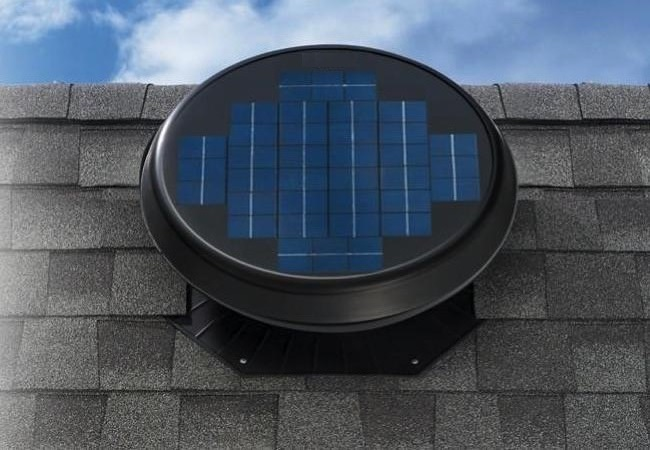FA1005 FASOLAR Solar Powered Roof Ventilator 25 Watt (with Installation in Melaka)