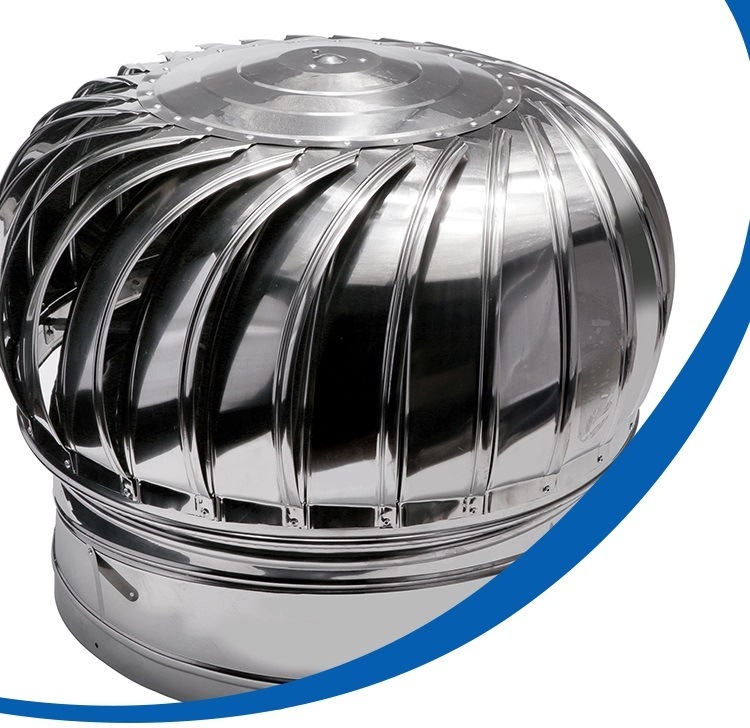 FW1111 US Stainless Steel 304 Wind Turbine Ventilator 32 Inch With Hybrid Boost Bearing + Life Time Warranty (Sabah)